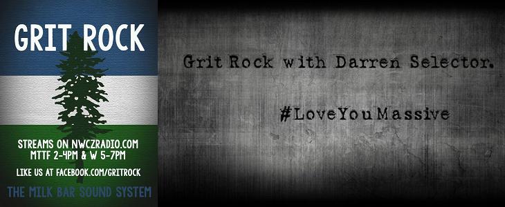 Grit Rock on NWCZ Radio!